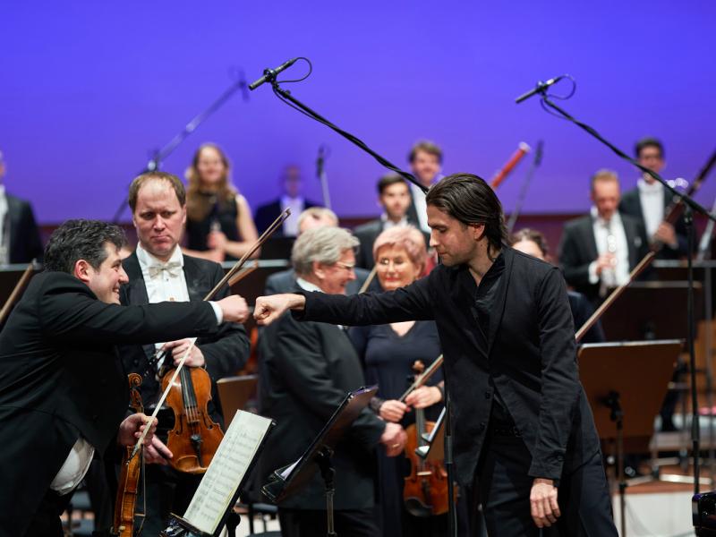 Norisinājies LNSO 2020./2021.gada sezonas noslēguma koncerts. FOTO