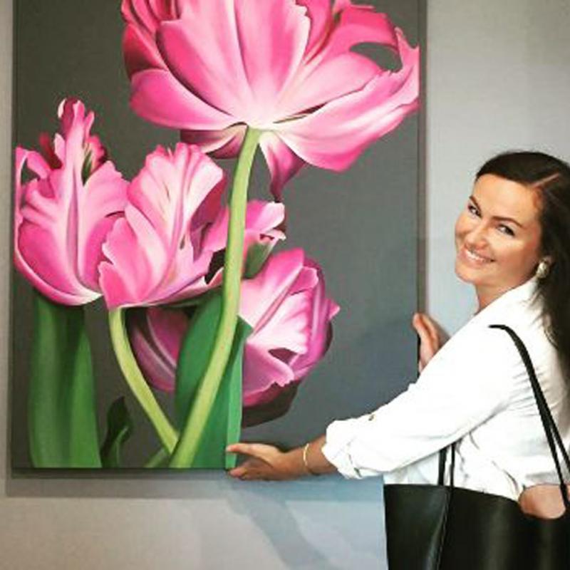 Māksliniece Ildze Ose – iedvesmā starp Šveici un Latviju