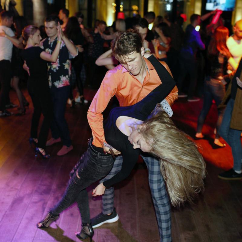 """Kultūras pils """"Ziemeļblāzma"""" aicina uz bačatas deju pasākumu"""