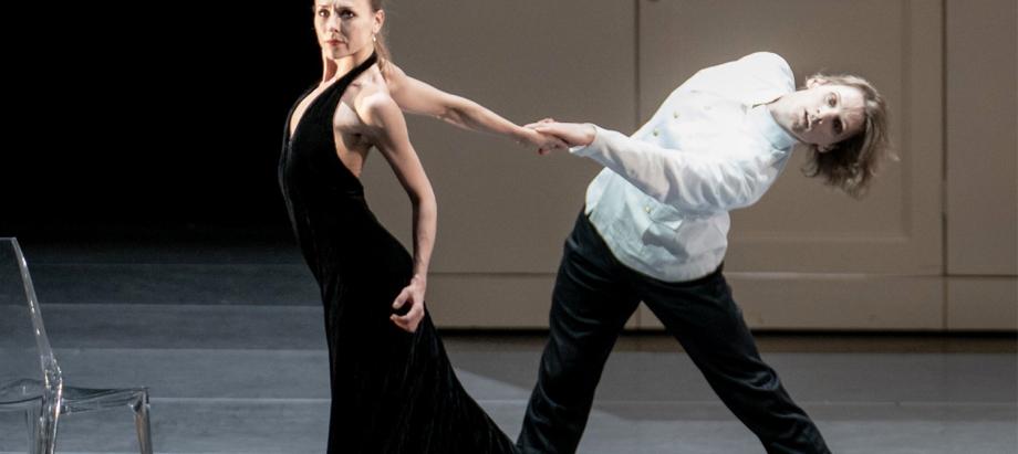 """Pasaulslavenā horeogrāfa Džona Noimaijera veidoto baletu """"Anna Kareņina"""" Jūrmalā izdejos Anna Laudere un Edvins Revazovs"""