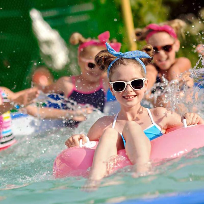 Bērnu ballīte vasarā