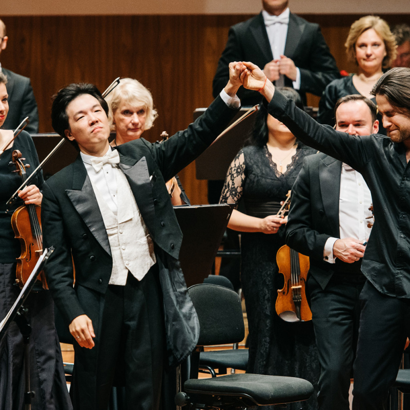 Pianista Georgija Osokina un LNSO koncerts. FOTO