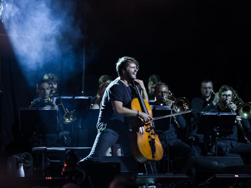 """Ar iespaidīgu grupas """"DaGamba"""" koncertu noslēdz Dzintaru koncertzāles vasaras sezonu. FOTO"""