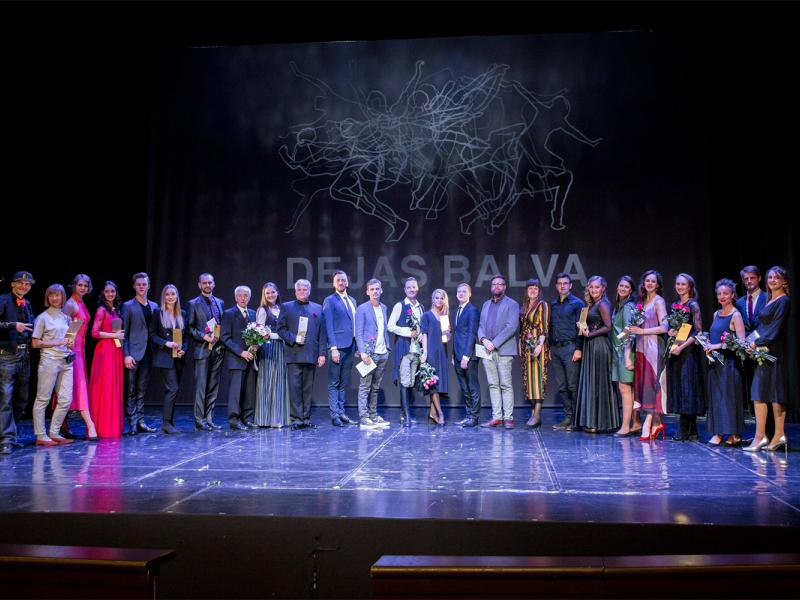 """""""Dejas balvas 2019"""" pasniegšanas ceremonija. FOTO"""