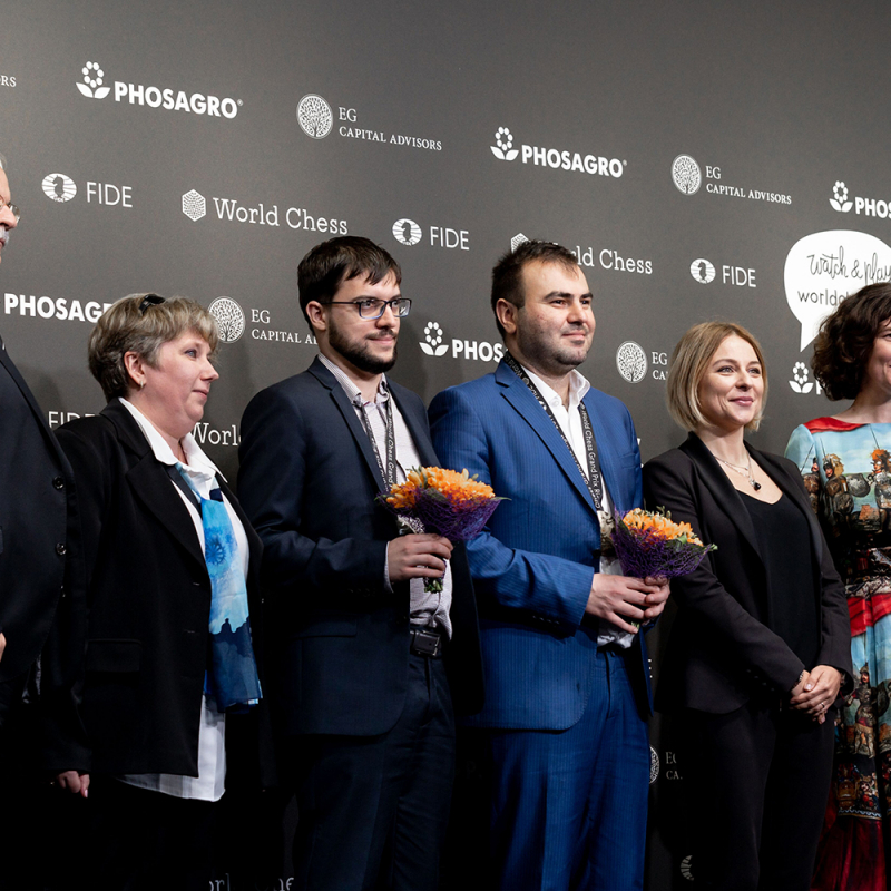 Šakrijars Mamedjarovs uzvar Rīgas Grand Prix turnīra posmu. FOTO