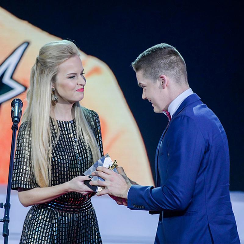 """Ieskats """"Latvijas Gada balva sportā 2018"""" svinīgā ceremonijā. FOTO"""
