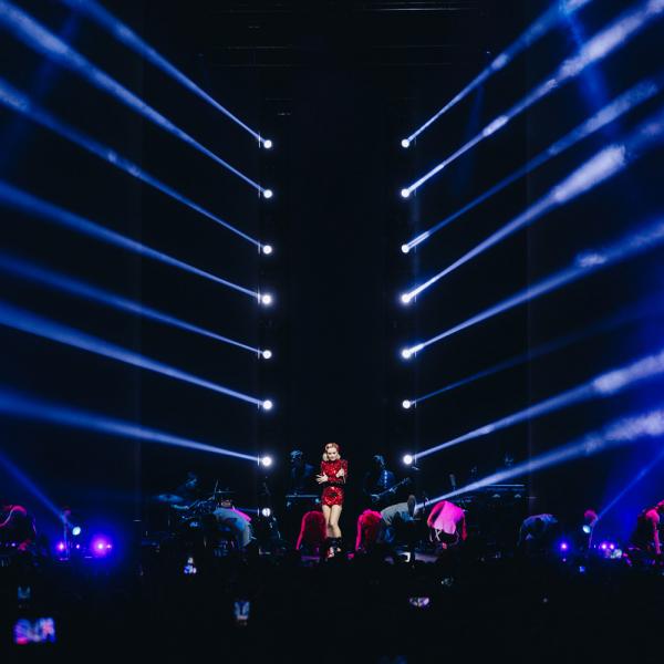 Rīgā ar lielkoncertu uzstāsies Poļina Gagarina