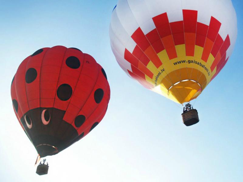 Lidojums ar gaisa balonu - lieta, ko izbaudīt