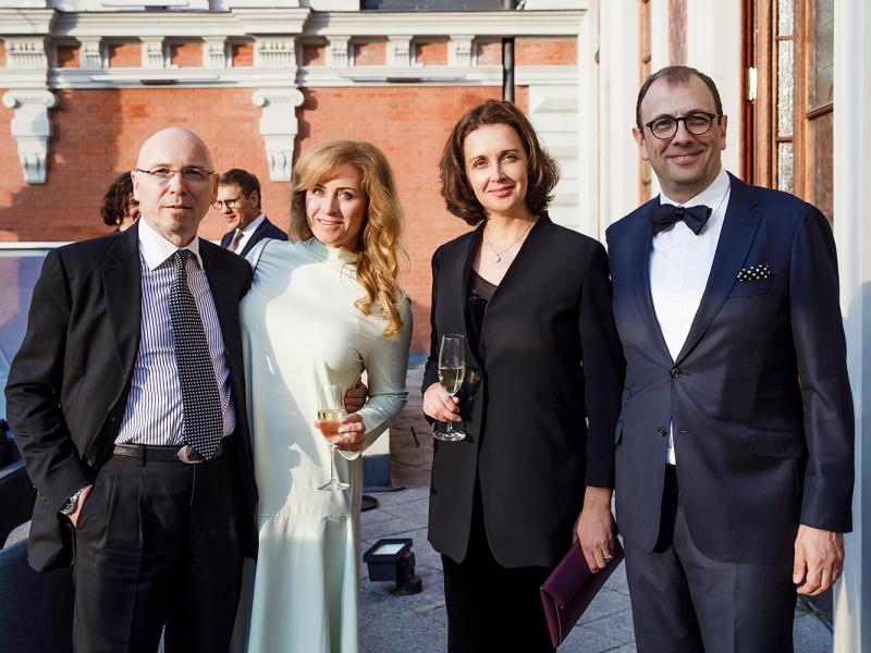 Šaha Grand Prix sērijas atklāšanas ceremonija Melngalvju namā. FOTO