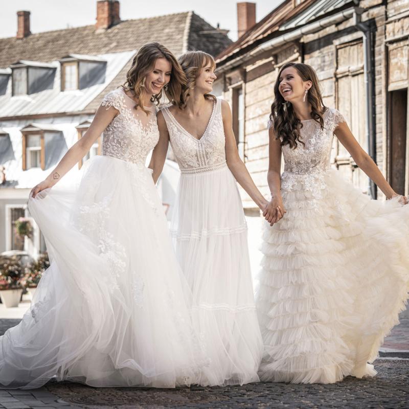 Klāt jaunā Ingrida Bridal 2020.gada kāzu kleitu kolekcija. FOTO
