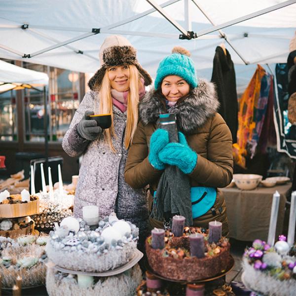 Kalnciema kvartālā piparkūku darbnīca bērniem un Ziemassvētku tirgus