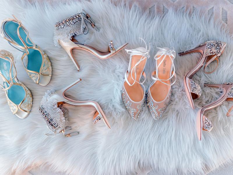 Kā atrast savas īstās kāzu kurpes