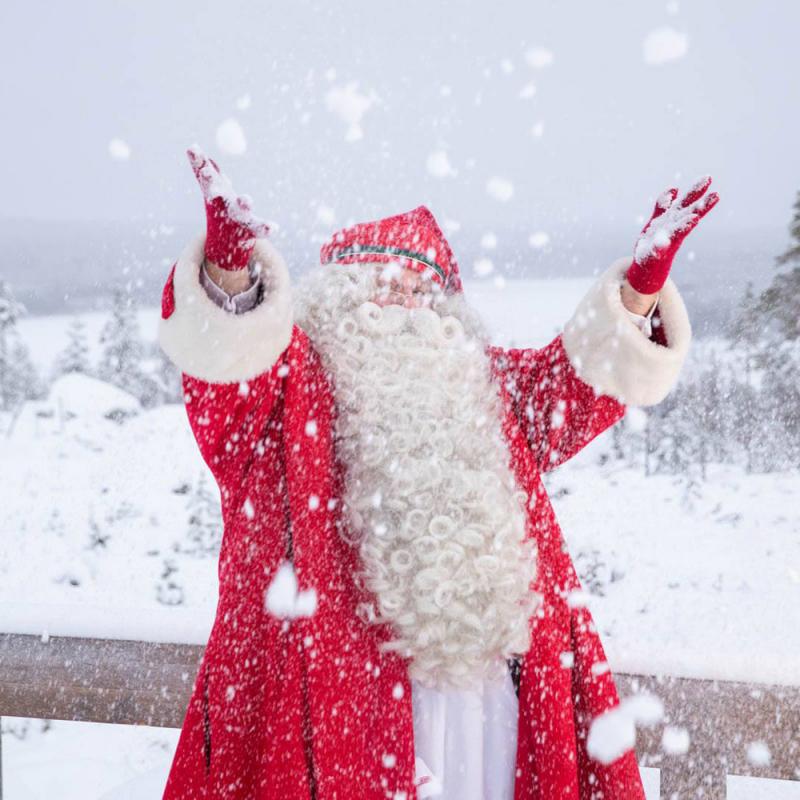 7 interesanti fakti par Santa Klausu un viņa biroju Lapzemē