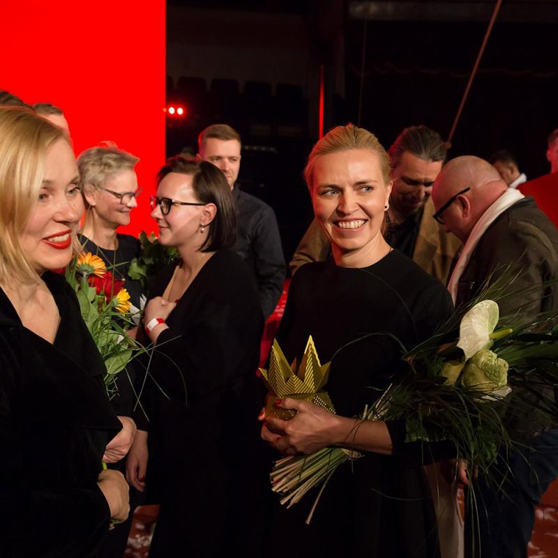 """Ieskats """"Latvijas Arhitektūras Lielās gada balvas 2019"""" svinīgajā ceremonijā. FOTO"""
