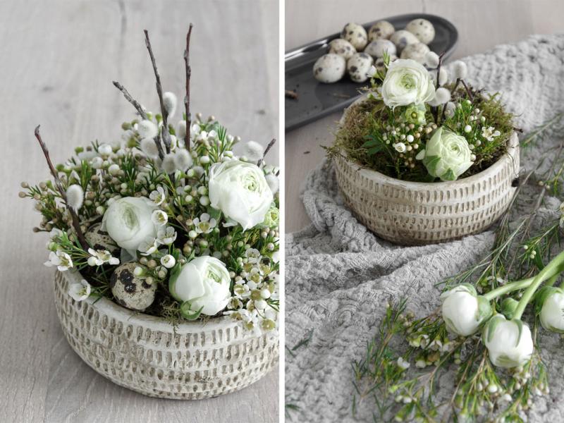 Pavasarīgs Lieldienu dekors