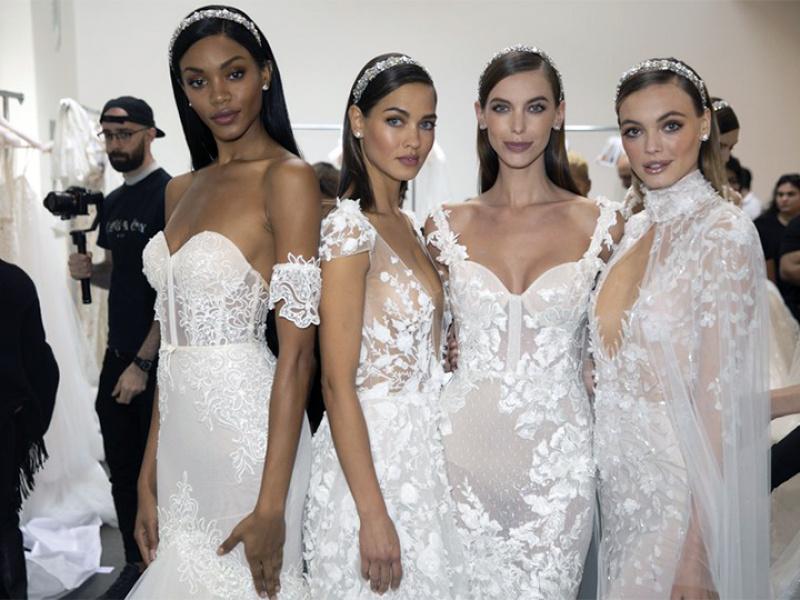 Līgavas modes nedēļas 2019 skaistuma tendences