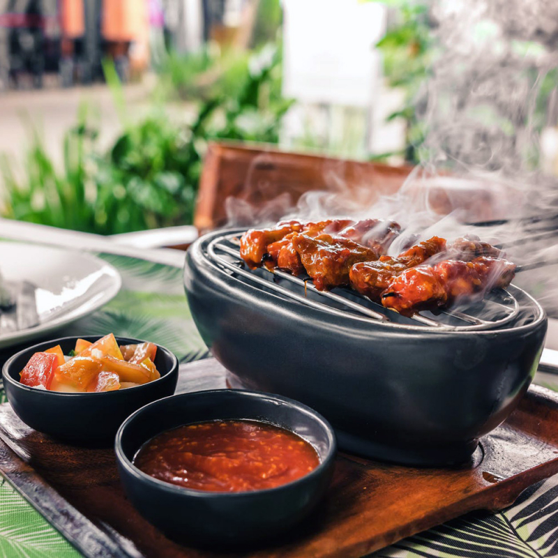 Vasarīgas mērces piknika sezonas maltītēm