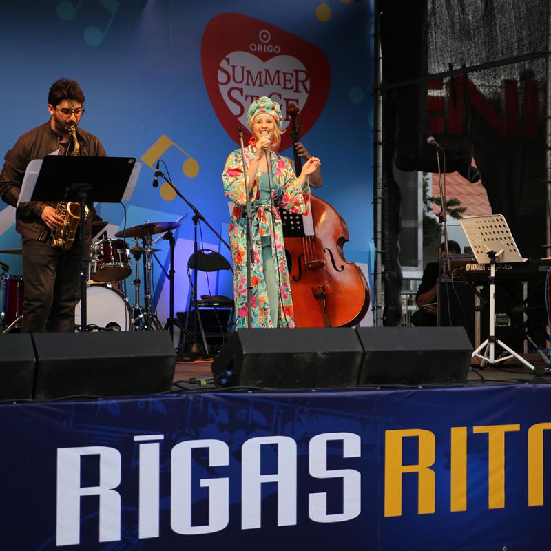 """Festivāla """"Rīgas Ritmi 2019"""" dienasgrāmata. Pirmā diena. FOTO"""