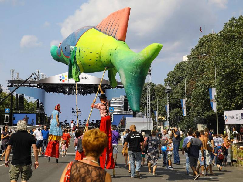Rīgas svētkos arīšogad būs iespēja baudīt daudzveidīgus koncertus