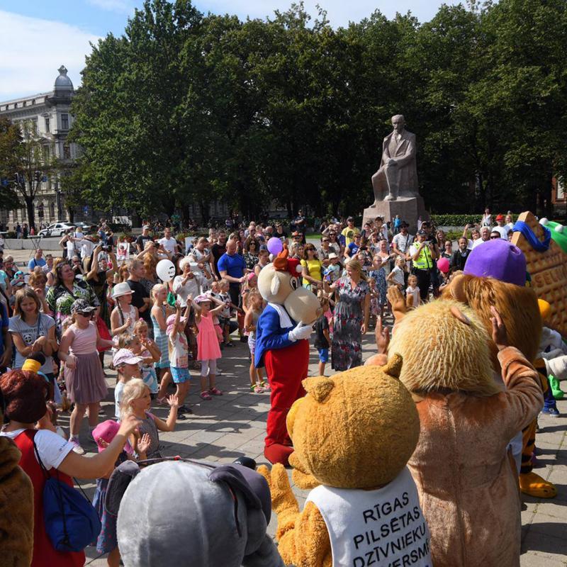 Ar vērienu nosvinēti Rīgas pilsētas svētki. FOTO