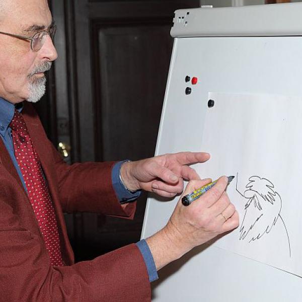 Latvijas karikatūristi – par un ap