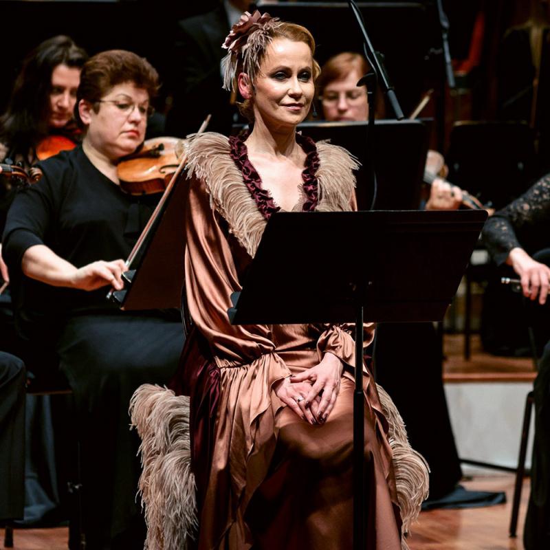 Lielajā ģildē izskanējis neparasts simfoniskais  koncerts. FOTO