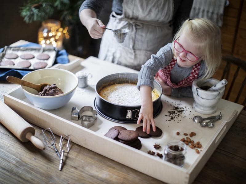 10 veidi, kā virtuvē iegūt Ziemassvētku sajūtu