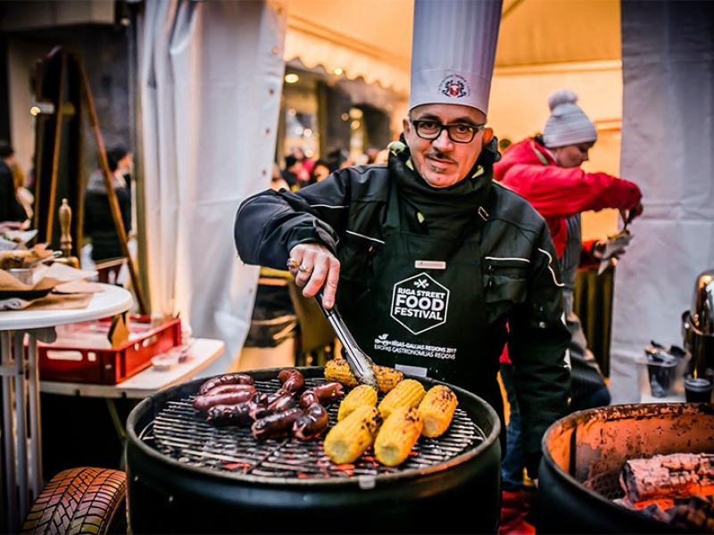 """""""Riga Street Food Festival"""" atzīst par trešo labāko publisko pasākumu pasaulē"""