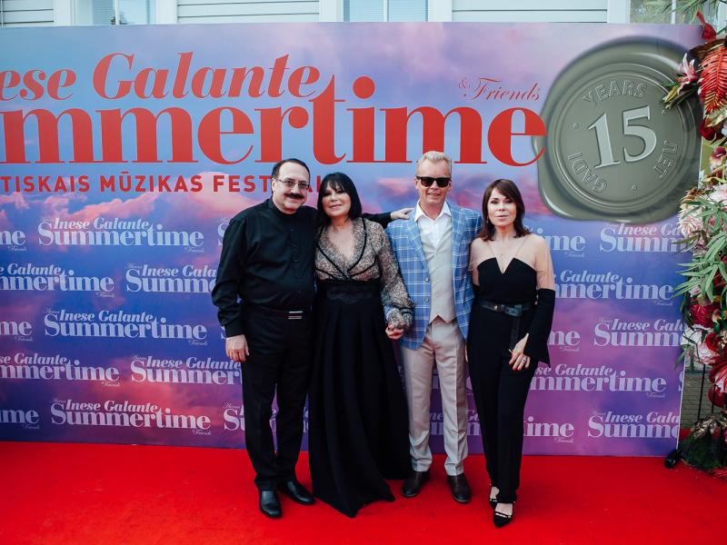 """Festivāla """"Summertime – aicina Inese Galante"""" piektā dienā. FOTO"""