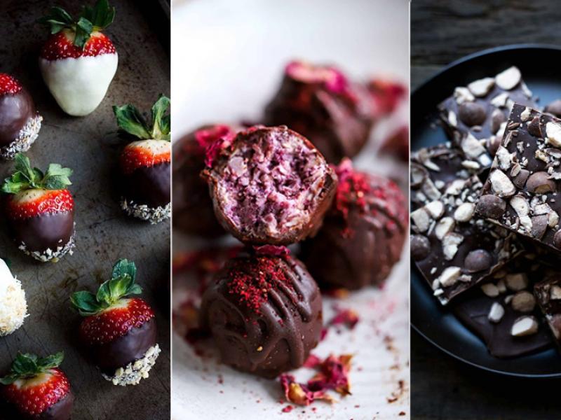 Valentīndienas deserti saldai noskaņai