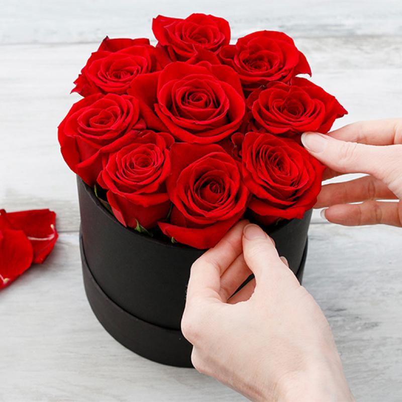 Valentīndienas dāvana – rožu kaste