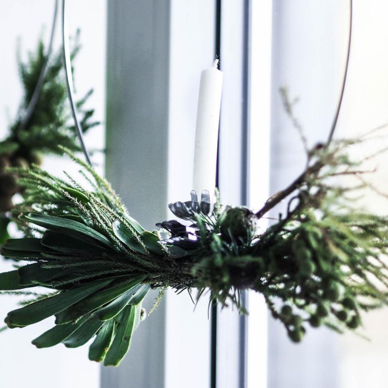 Pašu radīts Ziemassvētku dekors